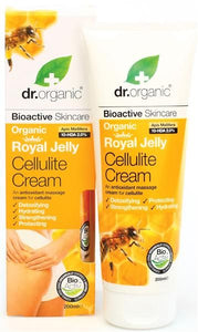 Anti-Cellulite Cream with Royal Jelly 200ml - Dr.Organic - Crisdietética