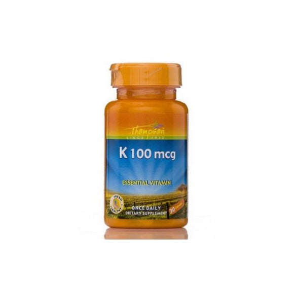 K 100mcg 30 cápsulas - Thompson