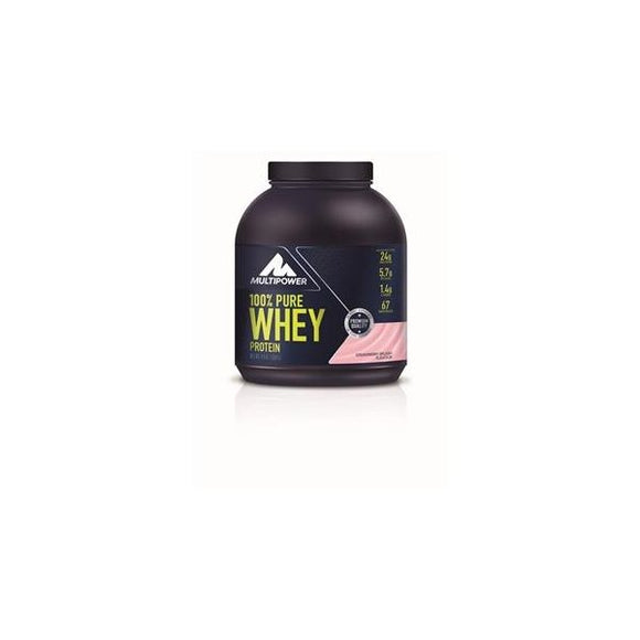Pure Whey Protein Morango 2kg - MultiPower