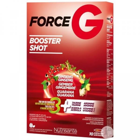 Force G Power Max 10ml 10 Ampolas - Nutrisanté
