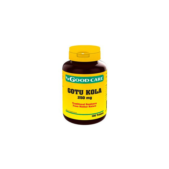 Gotu Kola 250mg 100 comprimidos - Good Care