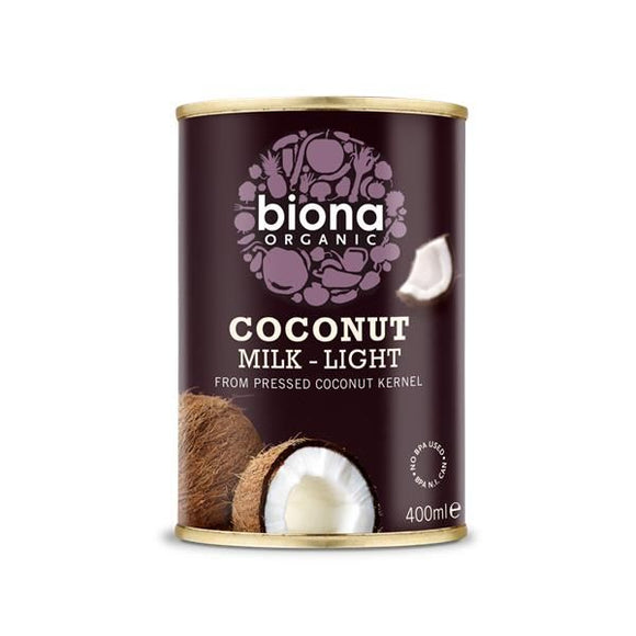 Leite de Coco Light Biológico 400ml - Biona