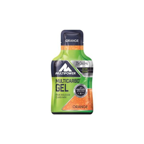 Gel Hidratos Carbono Laranja 40g - MultiPower