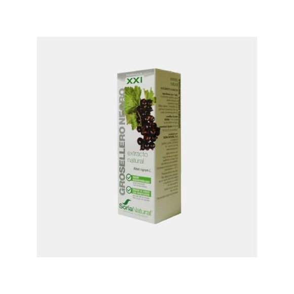 Extrato Natural Formula XXI Groselheira Negra 50ml - Soria Natural