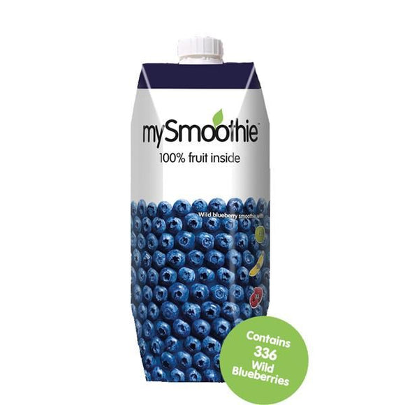 Smoothie de Mirtilo 750ml - MySmoothie