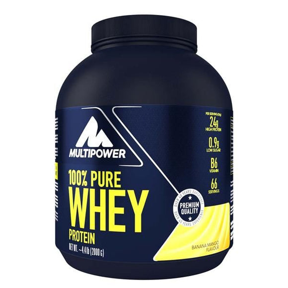 Pure Whey Protein Banana Manga 2kg - MultiPower
