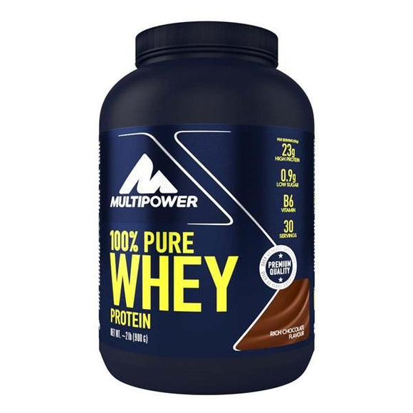 Pure Whey Protein Chocolate 900g - MultiPower