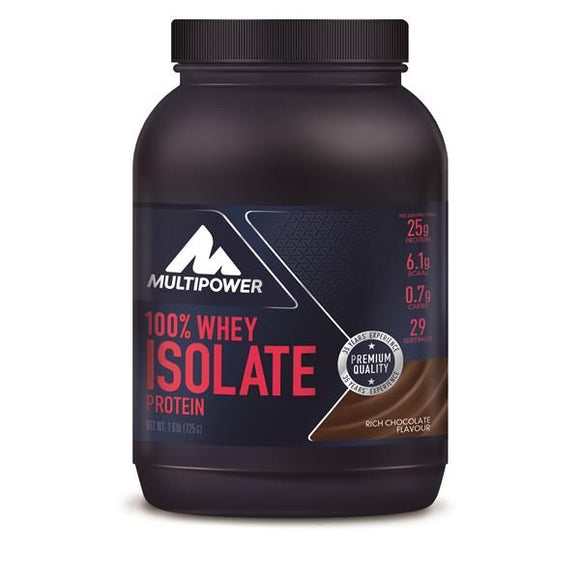 Whey Isolate Chocolate 725g - MultiPower