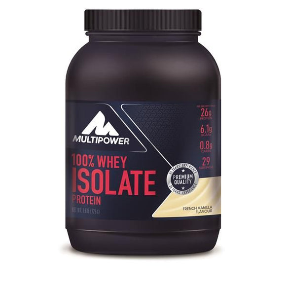 Whey Isolate Baunilha 725g - MultiPower