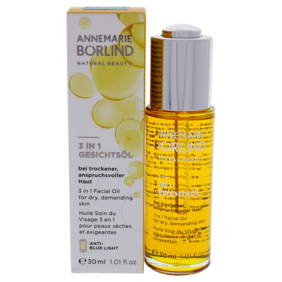 3 in 1 Facial Oil for Dry 50ml - Annemarie Borlind - Crisdietética
