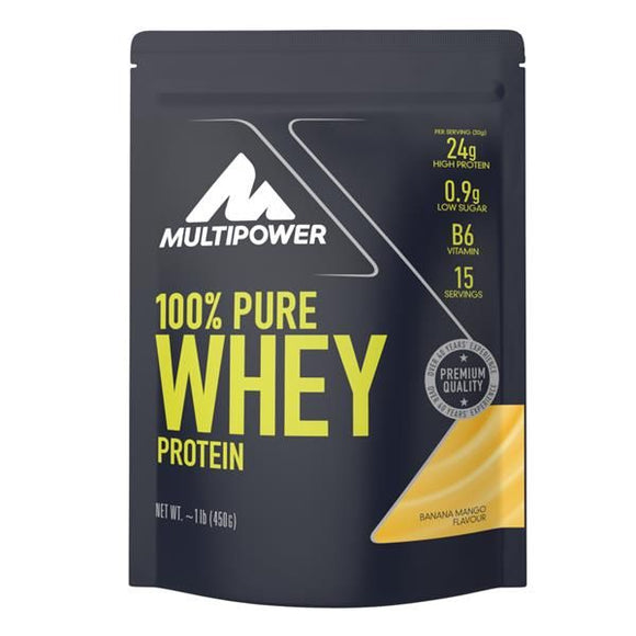 Pure Whey Protein Banana e Manga 450g - MultiPower