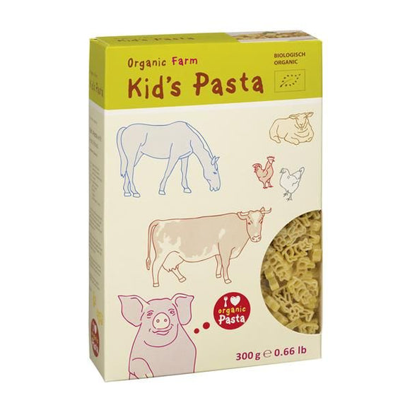 Kids Massa Bio - Animais Quinta 300g - Alb Gold