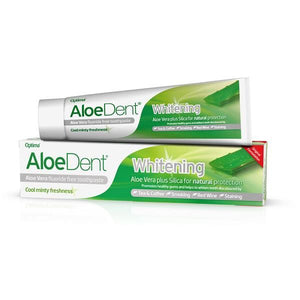 Whitening Toothpaste Without Fluoride 100ml - Aloe Dent - Crisdietética
