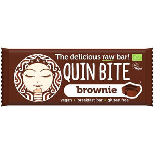 Bio Brownie Bar 30g - Quin Bite - Crisdietética