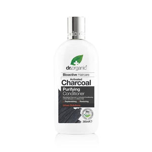 Activated Charcoal Softener 265ml - Dr.Organic - Crisdietética