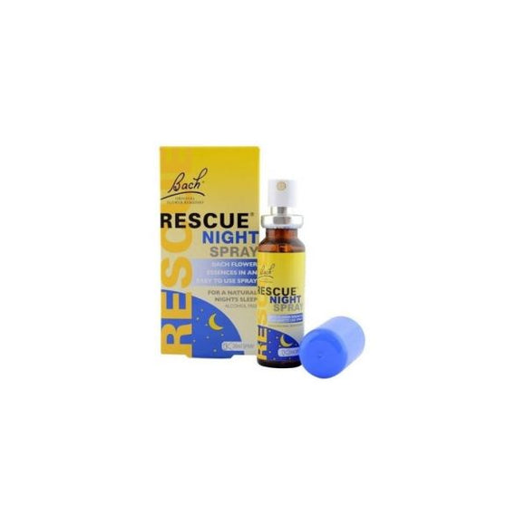 Floral de Bach Rescue Night Spray 20ml - Nelsons