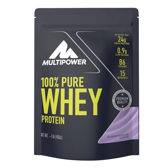 Pure Whey Protein Iogurte Mirtilo 450g - MultiPower