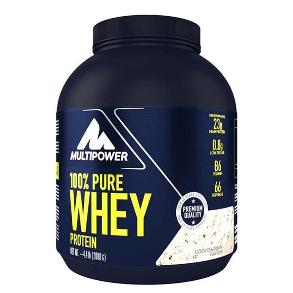 Pure Whey Protein Cookie And Cream 2kg - MultiPower