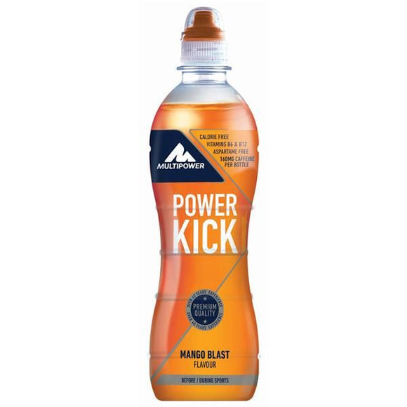 Bebida sem calorias Power Kick Manga 500ml - MultiPower