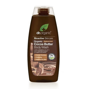 Shower Gel with Cocoa Butter 250ml - Dr.Organic - Crisdietética