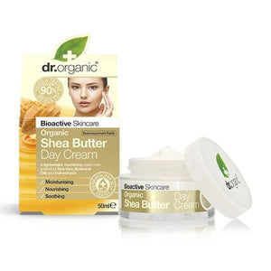 Day Cream with Shea Butter 50ml - Dr.Organic - Crisdietética