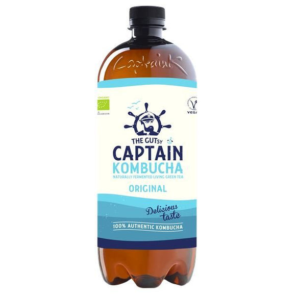 Kombucha Biológica Original 1L - The Gutsy Captain