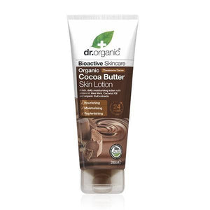 Body Lotion with Cocoa Butter 200ml - Dr.Organic - Crisdietética
