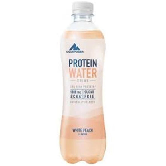 Bebida Protein Water Pessego 500ml - MultiPower