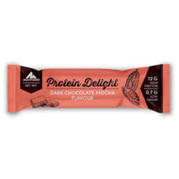 Barra Protein Delight Mocha Chocolate Preto 35g - MultiPower