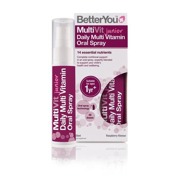 Multivitamínico Junior Spray Oral 25ml - Betteryou