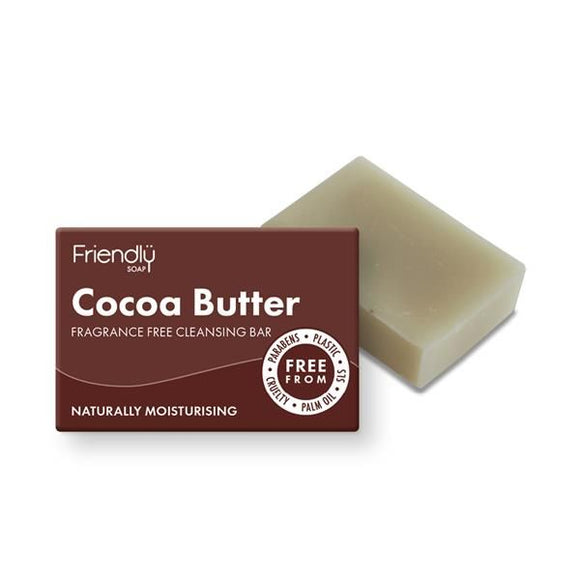 Sabonete Rosto Manteiga de Cacau 95g - Friendly Soap