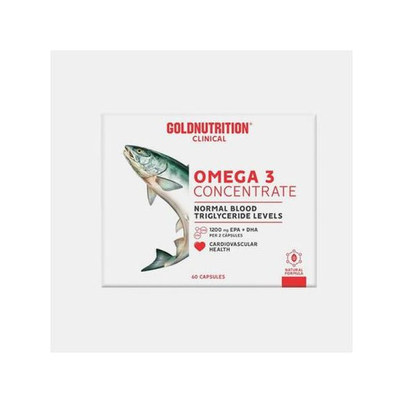 Omega 3 Concentrate - Gn Clinical - 60 Capsulas - GoldNutrition