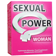 Sexual Power Woman 60 Compr. - Celeiro da Saúde Lda