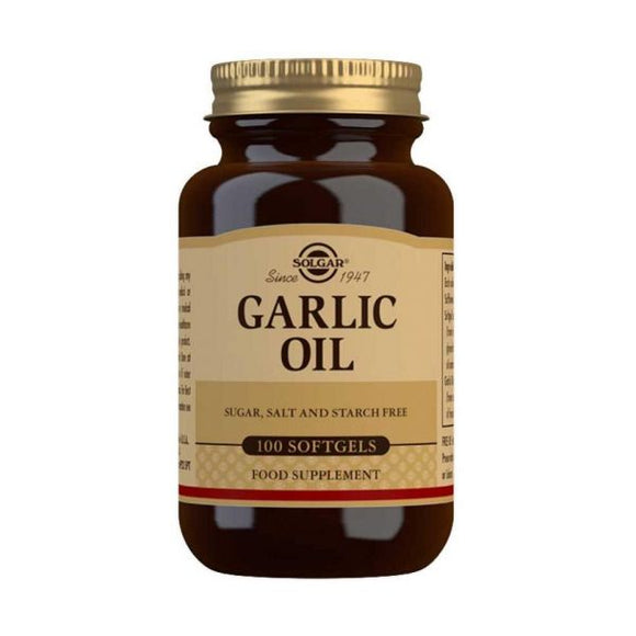 Garlic Oil 100 Cápsulas - Solgar