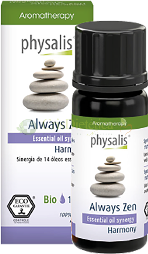 Synergy Always Zen Bio 10ml - Physalis