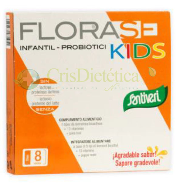 SANTIVERI Florase Kids 8 x 10 ml
