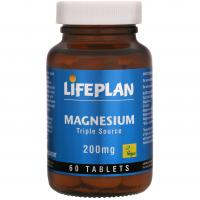 Magnesium triple source - 200mg x60 long - Celeiro da Saúde Lda