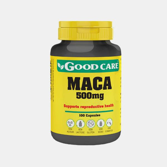 Maca 500mg 100 cápsulas - Good Care