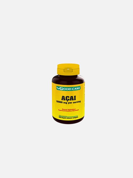 Açai 12000mg 120 Cápsulas - Good Care - Crisdietética