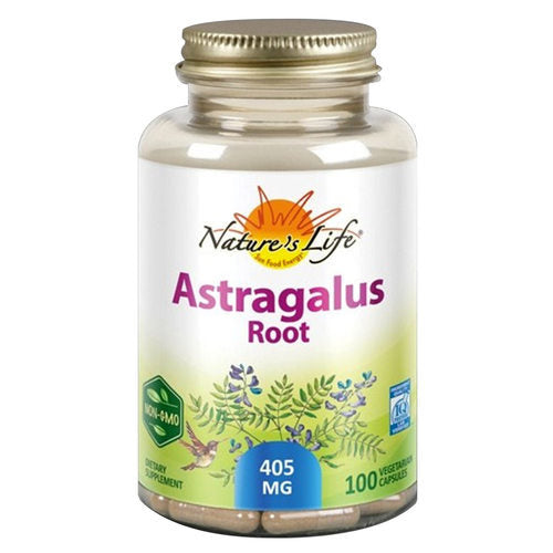Astragalus Root 400g 100 cápsulas - Nature's Herbs