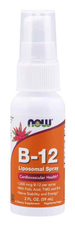 NOW Spray Lipossomal de Vitamina B-12 - 59ml