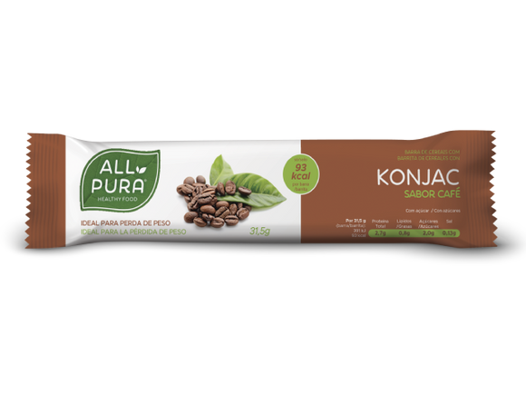 Barra de Cereais Konjac Café - All Pura