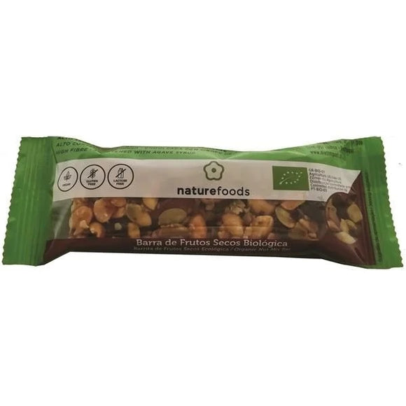 Barra de Frutos Secos Biológico 40g - Naturefoods