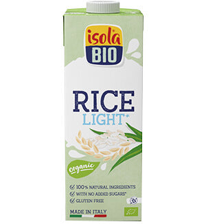 Bebida de Arroz Light 1L - Isola Bio - Crisdietética