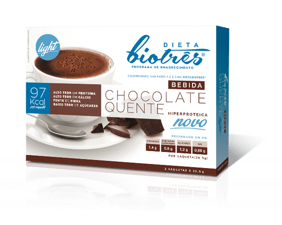 Bebida Light Chocolate Quente - Dieta Biotrês