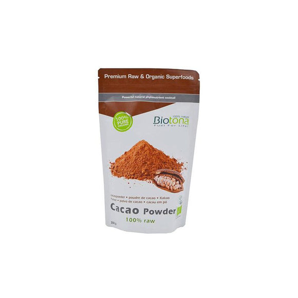 Cacao Raw Powder 200g - Biotona