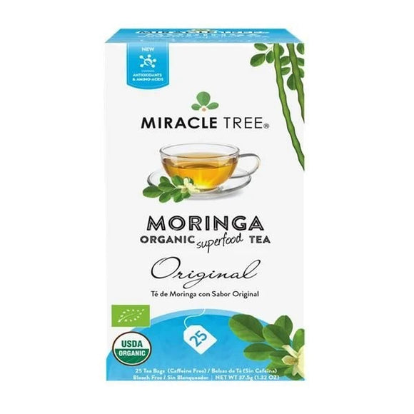Chá Moringa Original 25 Saquetas - Miracle Tree