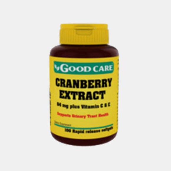 Cranberry Extract 100 Cápsulas - Good Care