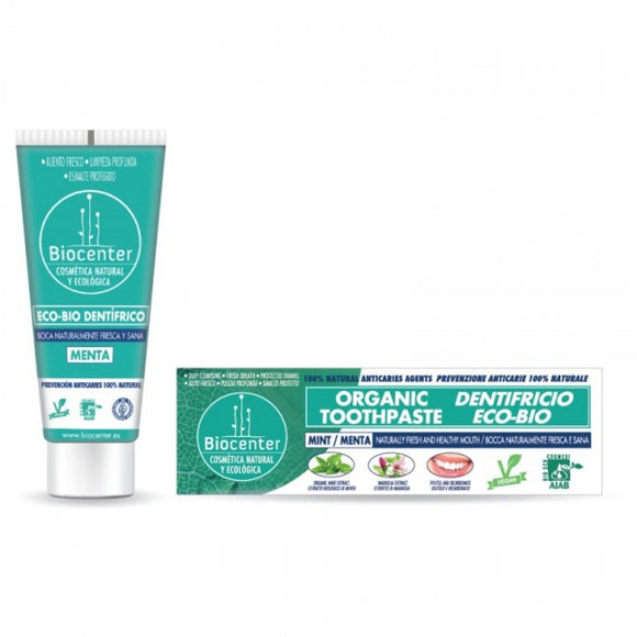 Pasta Dentifrica Menta Eco-Bio 75ml - Biocenter