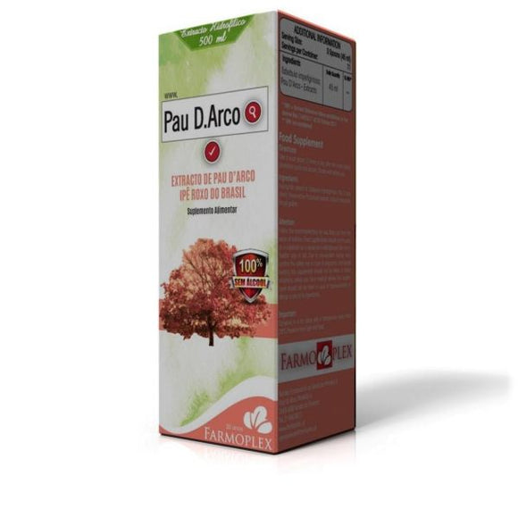 Extracto de Pau D´Arco 500ml - Farmoplex